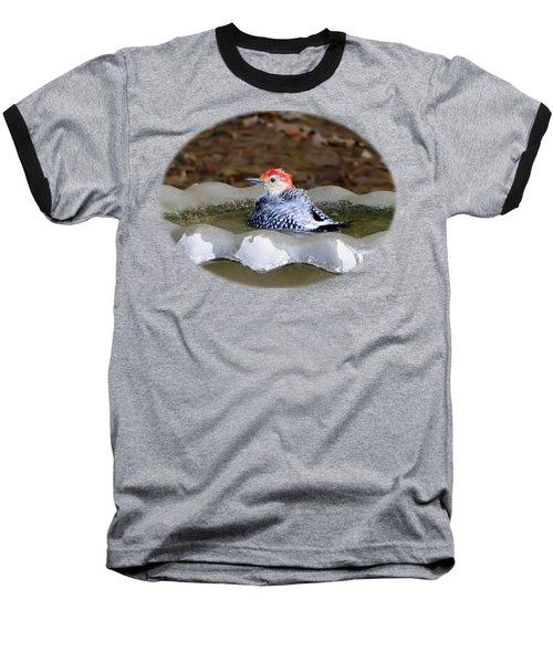 First Bath Baseball T-Shirt by Sue Melvin