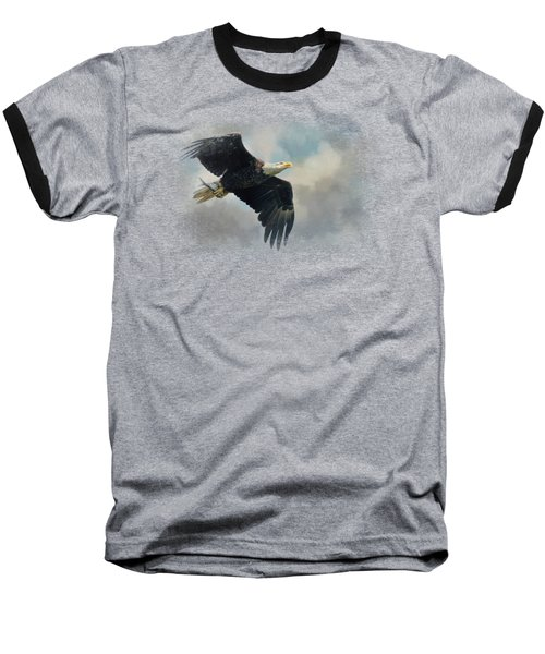 Fish In The Talons Baseball T-Shirt by Jai Johnson