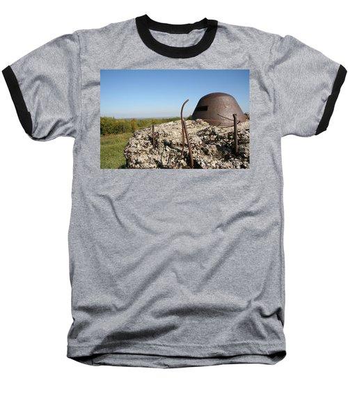Baseball T-Shirt featuring the photograph Fort De Douaumont - Verdun by Travel Pics