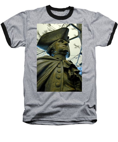 General George Washington Baseball T-Shirt by LeeAnn McLaneGoetz McLaneGoetzStudioLLCcom