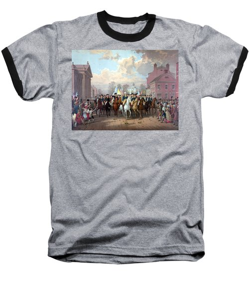 General Washington Enters New York Baseball T-Shirt by War Is Hell Store