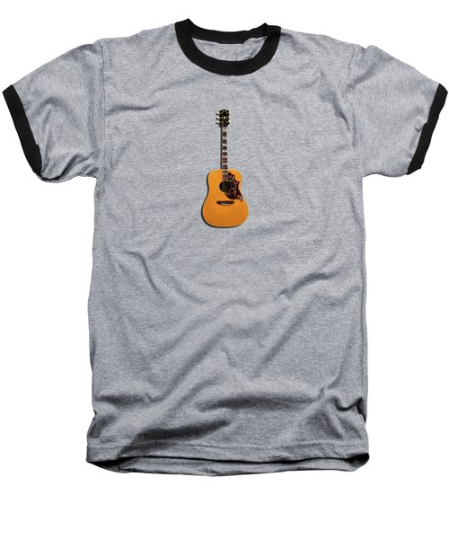 Gibson Hummingbird 1968 Baseball T-Shirt by Mark Rogan