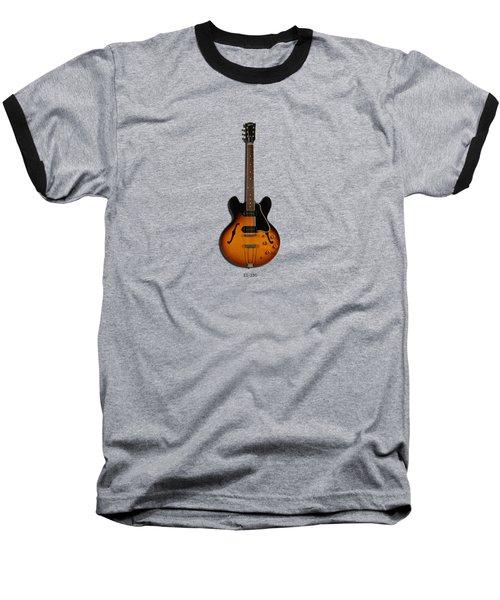 Gibson Semi Hollow Es330 Baseball T-Shirt by Mark Rogan