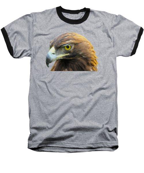 Golden Eagle Baseball T-Shirt by Shane Bechler