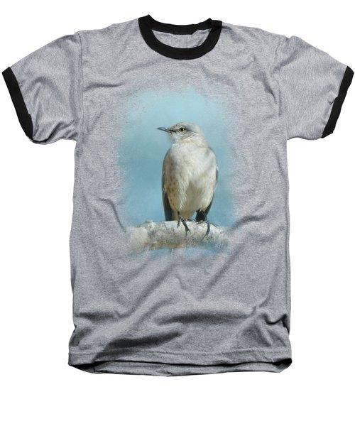 Good Winter Morning Baseball T-Shirt by Jai Johnson