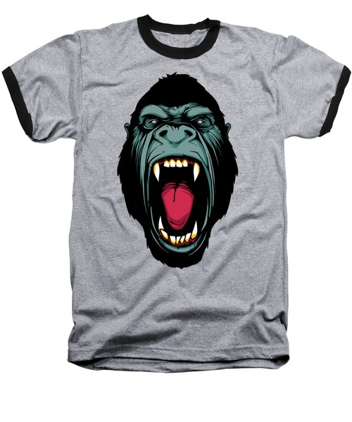 Gorilla Face Baseball T-Shirt by John D'Amelio