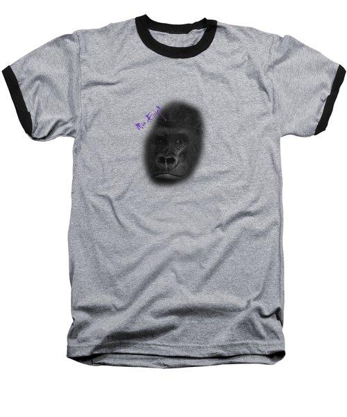 Gorilla Baseball T-Shirt by Maria Astedt