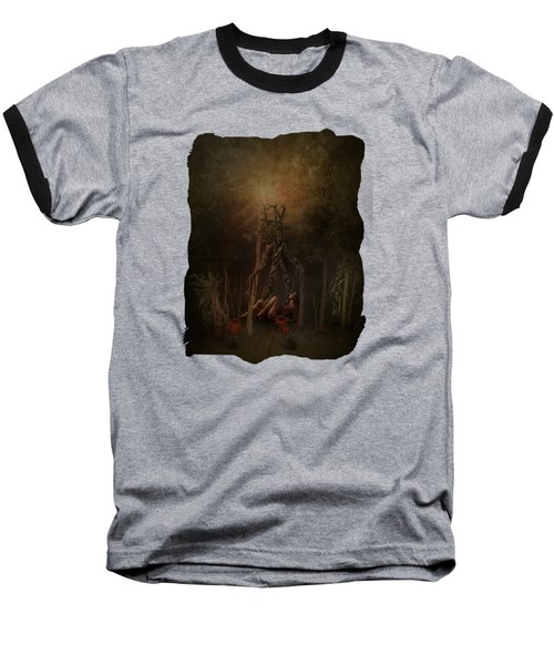 Guardians Of The Forest Baseball T-Shirt by Terry Fleckney