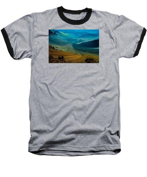 Baseball T-Shirt featuring the photograph Haleakala by M G Whittingham