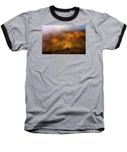 Baseball T-Shirt featuring the photograph Haleakala Halo by M G Whittingham