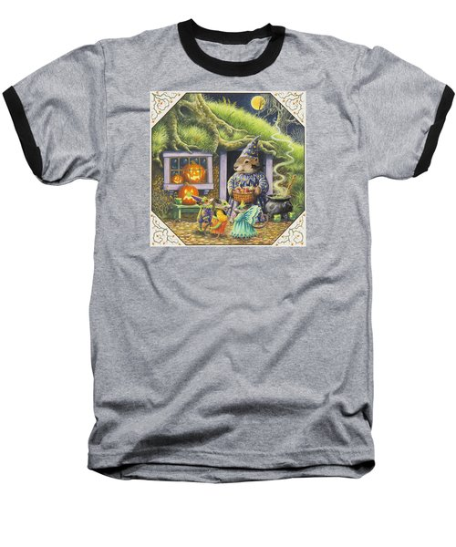 Halloween Costumes Baseball T-Shirt by Lynn Bywaters