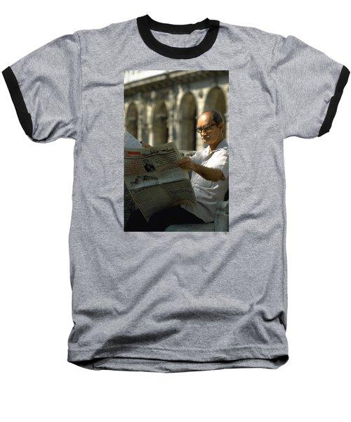 Baseball T-Shirt featuring the photograph Havana by Travel Pics