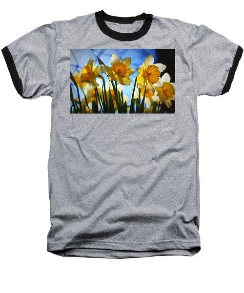 Hello Spring Baseball T-Shirt by Cricket Hackmann
