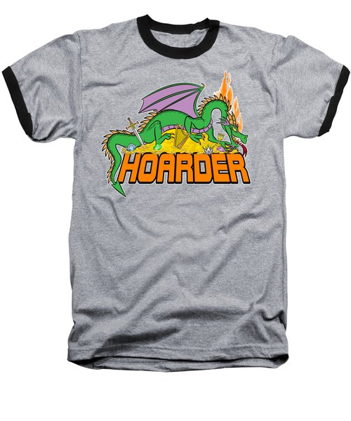 Hoarder Baseball T-Shirt by J L Meadows