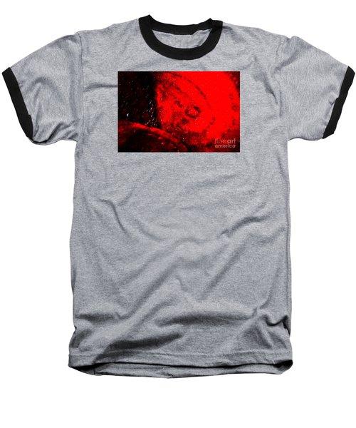 Implosion Baseball T-Shirt by Eva Maria Nova