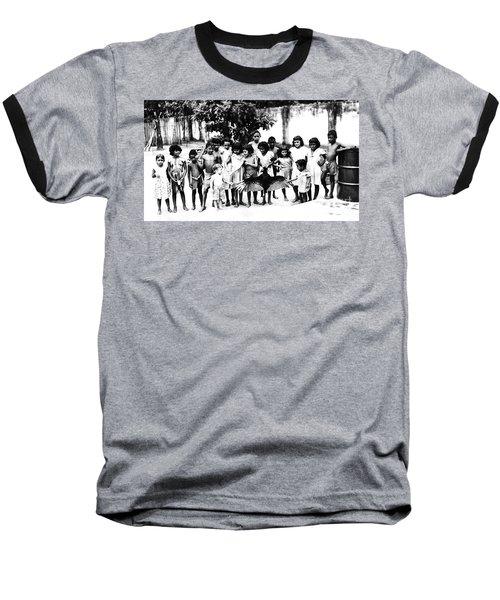 In The Amazon 1953 Baseball T-Shirt by W E Loft
