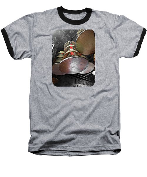 Incense Trays Baseball T-Shirt by Ethna Gillespie