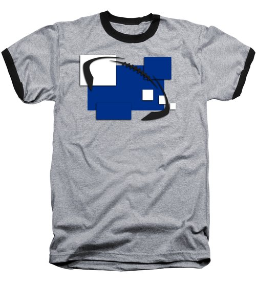 Indianapolis Colts Abstract Shirt Baseball T-Shirt by Joe Hamilton
