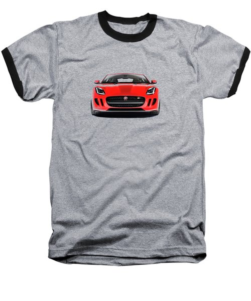 Jaguar F Type Baseball T-Shirt by Mark Rogan