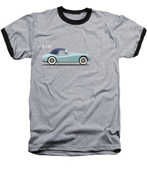 Jaguar Xk140 Baseball T-Shirt by Mark Rogan
