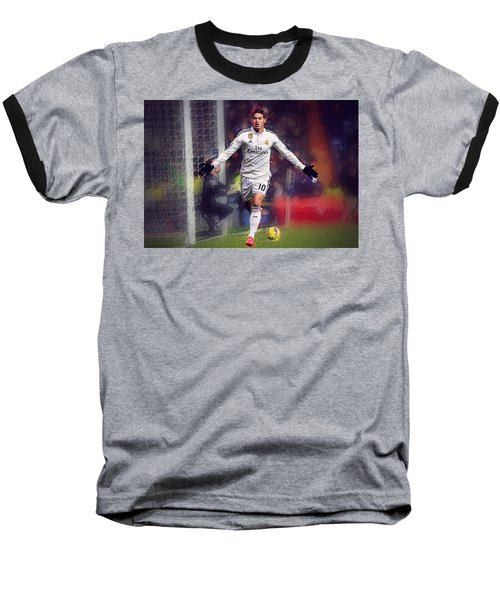 James Rodrigez Baseball T-Shirt by Semih Yurdabak