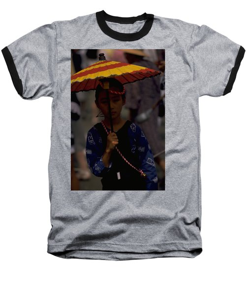 Baseball T-Shirt featuring the photograph Japanese Girl by Travel Pics