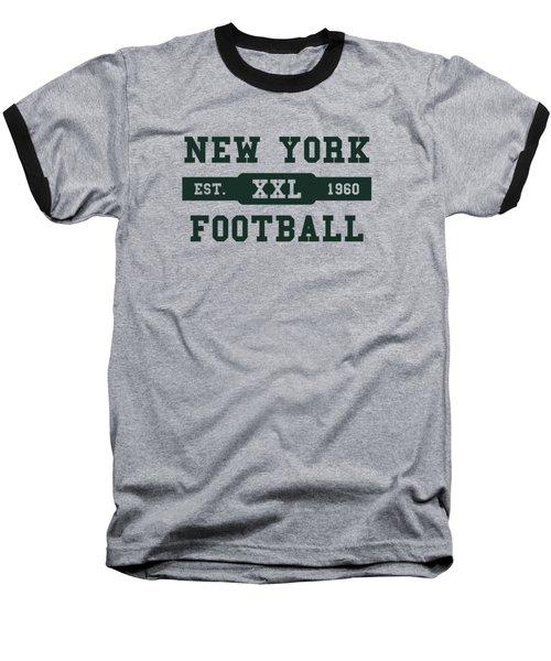 Jets Retro Shirt Baseball T-Shirt by Joe Hamilton
