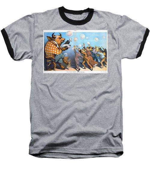John Pierpont Morgan Baseball T-Shirt by Granger
