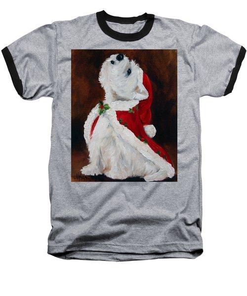 Joy To The World Baseball T-Shirt by Mary Sparrow