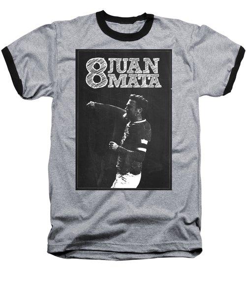 Juan Mata Baseball T-Shirt by Semih Yurdabak