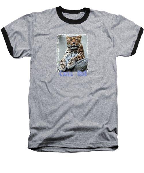 Just Chillin' Baseball T-Shirt by DJ Florek