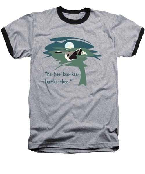 Kelingking Hornbill Baseball T-Shirt by Geckojoy Gecko Books