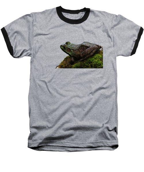 King Of The Rock Baseball T-Shirt by Debbie Oppermann