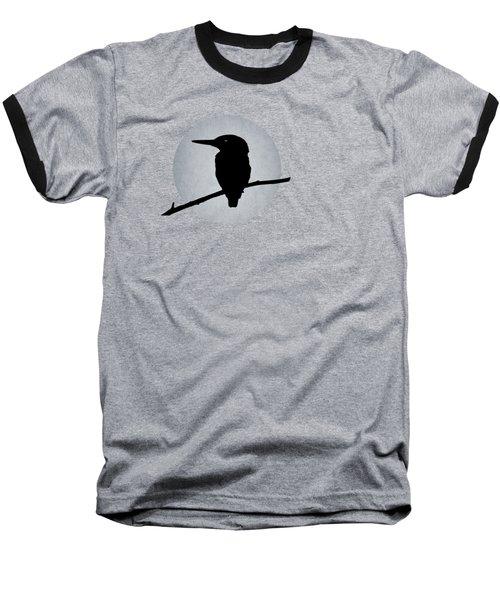 Kingfisher Baseball T-Shirt by Mark Rogan