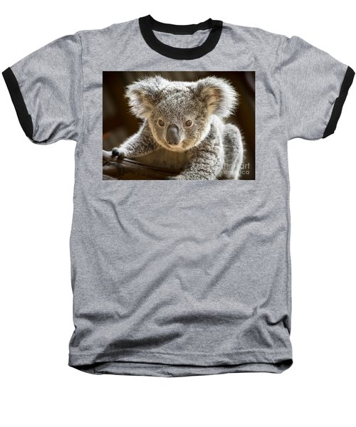 Koala Kid Baseball T-Shirt by Jamie Pham