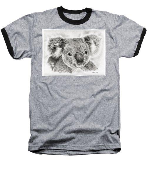 Koala Newport Bridge Gloria Baseball T-Shirt by Remrov