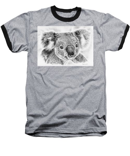 Koala Newport Bridge Gloria Baseball T-Shirt by Remrov