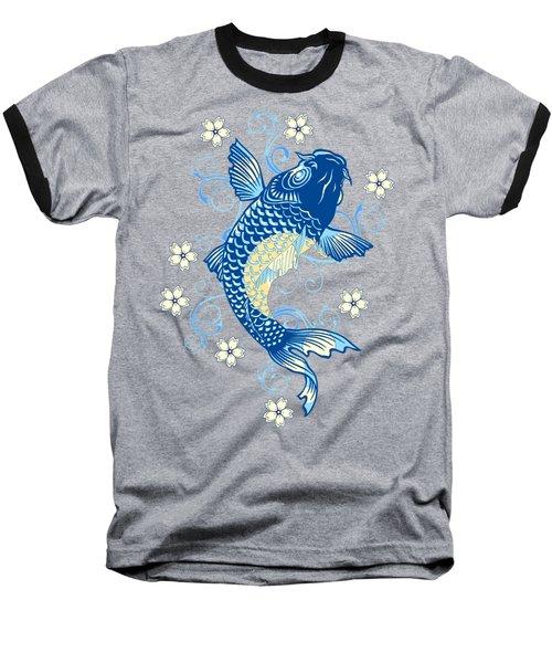 KOI Baseball T-Shirt by Otis Porritt