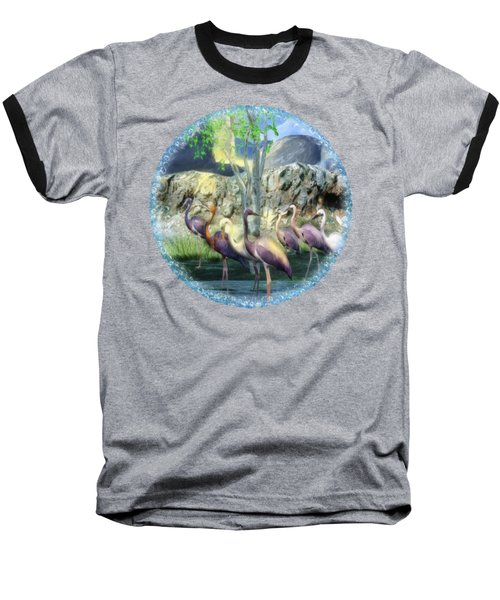 Lakeside View Baseball T-Shirt by Sharon and Renee Lozen