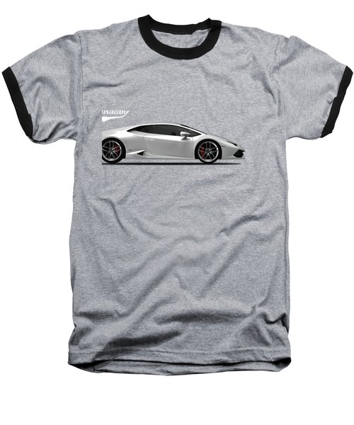 Lamborghini Huracan Baseball T-Shirt by Mark Rogan