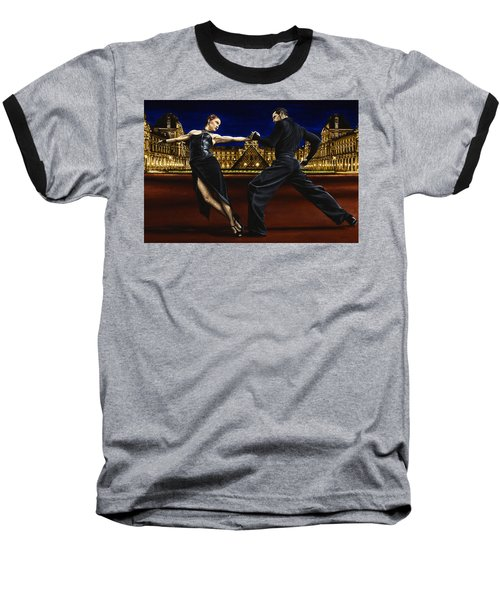 Last Tango In Paris Baseball T-Shirt by Richard Young