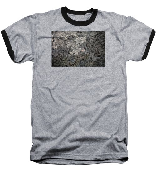 Baseball T-Shirt featuring the photograph Lava Flow by M G Whittingham