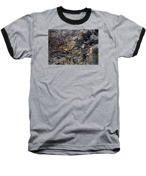 Baseball T-Shirt featuring the photograph Lava by M G Whittingham