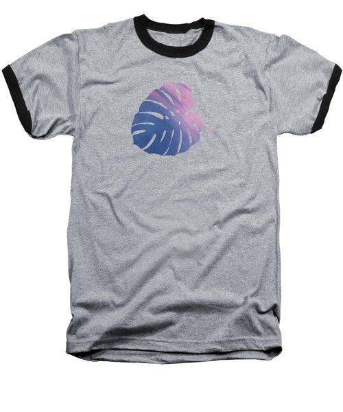 Leaf Abstract 1 Baseball T-Shirt by Art Spectrum