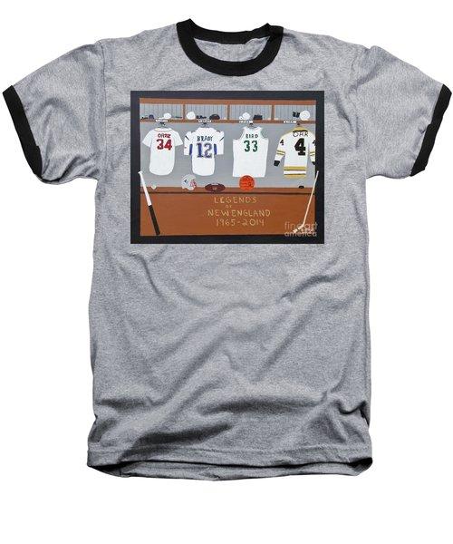 Legends Of New England Baseball T-Shirt by Dennis ONeil