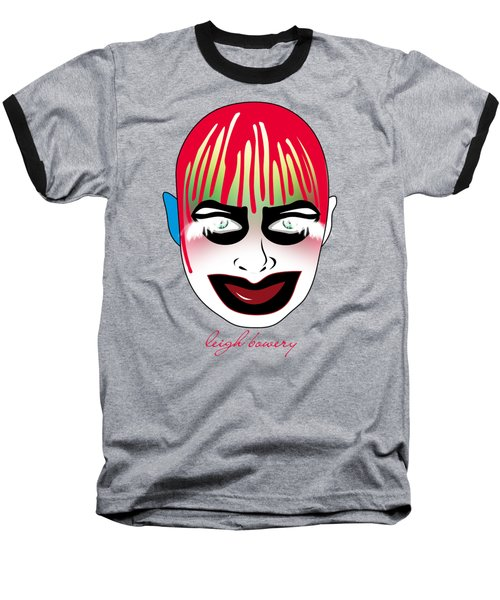 Leigh Bowery Baseball T-Shirt by Mark Ashkenazi