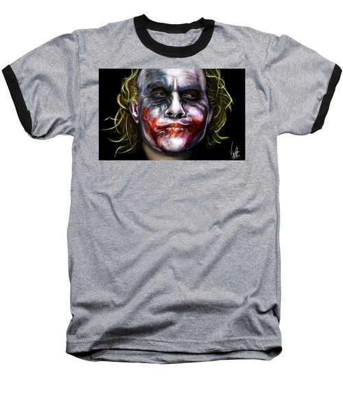 Let's Put A Smile On That Face Baseball T-Shirt by Vinny John Usuriello