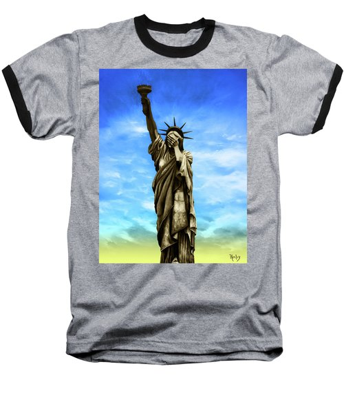 Liberty 2016 Baseball T-Shirt by Kd Neeley