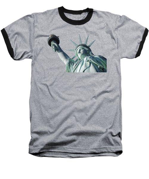 Liberty II Baseball T-Shirt by  Newwwman