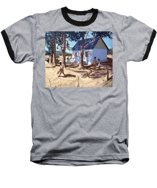 Little White House Karoo South Africa Baseball T-Shirt by Andrew Macara